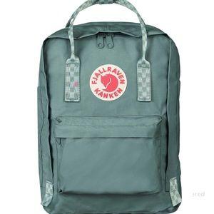 "Fjallraven kanken 13"" laptop backpack frost green"